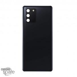 Vitre arrière + lentille caméra Samsung Galaxy S10 Lite Noir