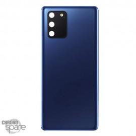 Vitre arrière + lentille caméra Samsung Galaxy S10 Lite bleu