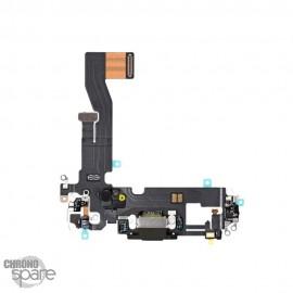 Nappe connecteur de charge iPhone 12/12 pro graphite