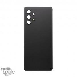 Vitre arrière + lentille caméra noire Samsung Galaxy A32 4G