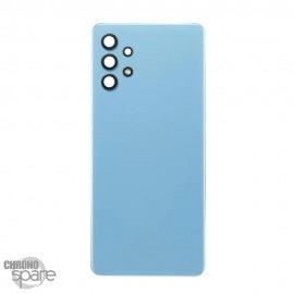 Vitre arrière + lentille caméra bleue Samsung Galaxy A32 4G
