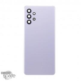 Vitre arrière + lentille caméra violet Samsung Galaxy A32 4G