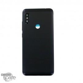 Vitre arrière +châssis + lentille caméra Xiaomi Redmi Note 6 Pro Noire