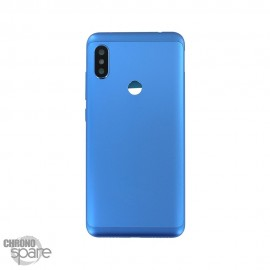 Vitre arrière + châssis + lentille caméra Xiaomi Redmi Note 6 Pro Bleu
