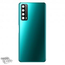 Vitre arrière + lentille caméra Huawei P smart 2021 Verte