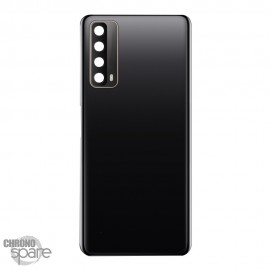 Vitre arrière + lentille caméra Huawei P smart 2021 Noire