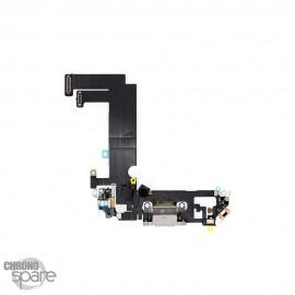 Nappe connecteur de charge iPhone 12 mini blanche