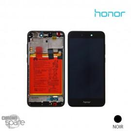 Ecran LCD + Vitre Tactile Noire Honor 8 Lite (officiel)