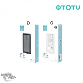 Batterie Externe 10000 mAh blanche TOTU (CPBL-03)