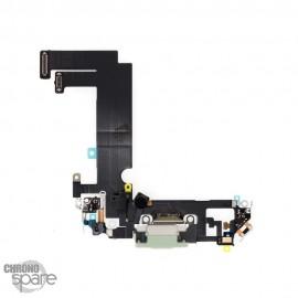 Nappe connecteur de charge iPhone 12 mini verte