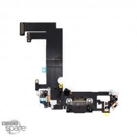 Nappe connecteur de charge iPhone 12 mini noire