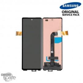 Ecran LCD + Vitre Tactile Externe noir Samsung Galaxy Z Fold 2 F916B (officiel)
