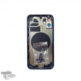 Châssis iphone 12 mini bleu - sans nappes