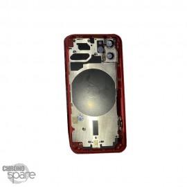 Châssis iphone 12 mini rouge - sans nappes