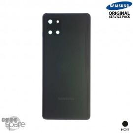 Vitre arrière + vitre caméra Samsung Galaxy Note 10 Lite SM-N770 noire (Officiel)