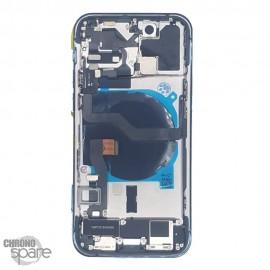 Châssis iphone 12 pro bleu - avec nappes
