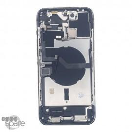 Châssis iphone 12 pro max bleu - avec nappes