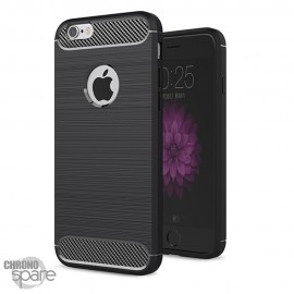 Coque souple carbone iphone 13 - Noir