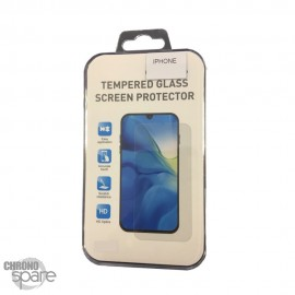 Film de protection incurvé 3D en verre trempé iPhone 13/13 PRO noire avec Boîte