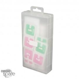 Boîte de 10 vitres de protection en verre trempé iPhone 13 mini