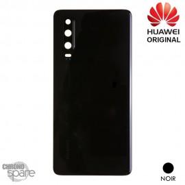 Vitre arrière + vitre caméra Huawei P30 (Officiel) - Noire
