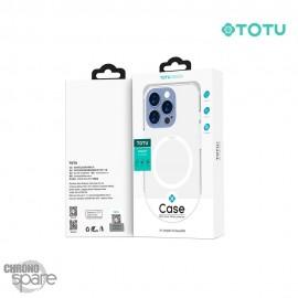 Coque silicone Transparente Magnétique iPhone 13 pro max TOTU