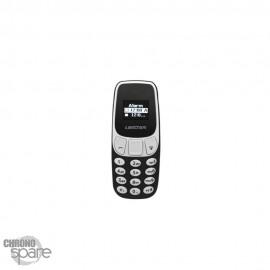 Mini Téléphone Débloqué à Quadri-Bande L8STAR BM10 Noir