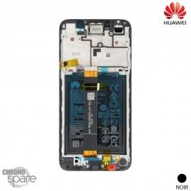 Ecran LCD + vitre tactile + Batterie Huawei Y5P- Noir (officiel)