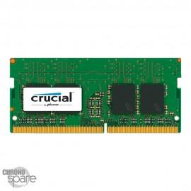 Barrette Mémoire Crucial 8Go DDR4 So-Dimm 2400Mhz CL17