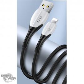 Câble USB vers micro USB noir 2M TOTU (BM-002)