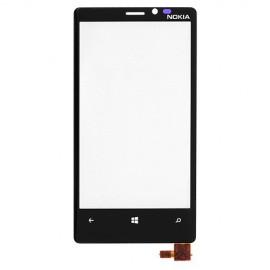 Vitre tactile Nokia Lumia 820 Noire