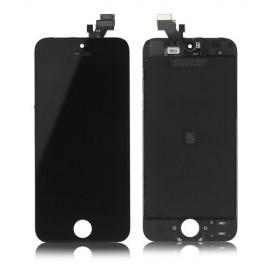Ecran LCD + vitre tactile iPhone 5 noir Fournisseur T