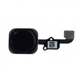 Nappe bouton Home iPhone 6 noir avec Touch ID