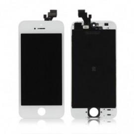 Ecran LCD + vitre tactile iPhone 5 blanc Fournisseur V