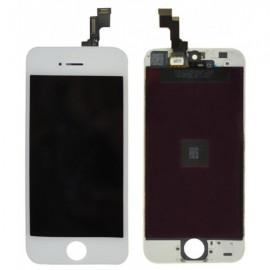 Ecran LCD + vitre tactile iPhone 5S Blanc Fournisseur V