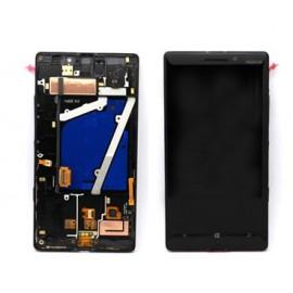 Vitre tactile + écran LCD + châssis Nokia Lumia 930 Noir