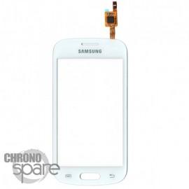 Vitre tactile blanche Samsung Galaxy Trend Lite S7390G