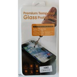 Vitre de protection en verre trempé Samsung Galaxy Note 3 avec Boîte