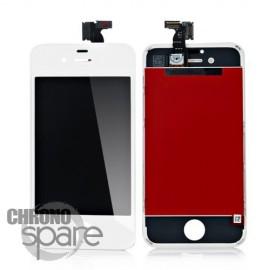Ecran LCD + vitre tactile iPhone 4 Blanc (toutes versions) Fournisseur T
