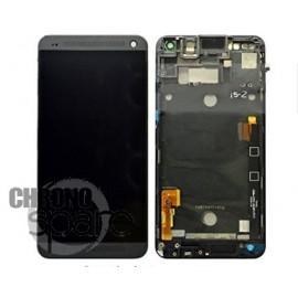 Vitre tactile + écran LCD + châssis HTC One M8 Noir