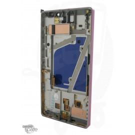 Vitre tactile + écran LCD + châssis Nokia Lumia 930 Gris Metal