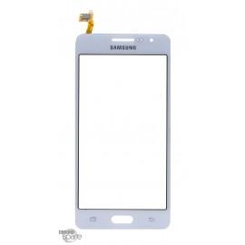 Vitre tactile blanche Samsung Galaxy Grand Prime G530F GH96-07760A (officiel)