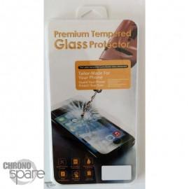 Vitre de protection en verre trempé Samsung Galaxy A3 A300F avec Boîte