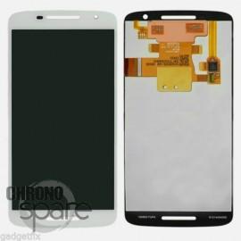 Ecran LCD + Vitre Tactile Blanche pour Motorola Moto X Play