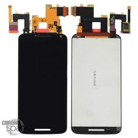 Ecran LCD + Vitre Tactile Noire pour Motorola Moto X Style