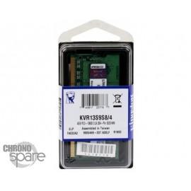 Barrette Mémoire Kingston 4Go DDR3 So-Dimm PC10600 1333 Mhz