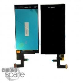 Ecran LCD + Vitre Tactile noire Blackberry Leap Z20