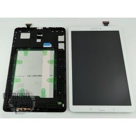 Ecran LCD + Vitre tactile Blanche Samsung Tab E T560 (officiel) GH97-17525B