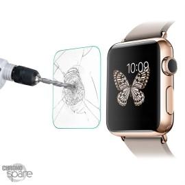 Vitre de protection en verre trempé Apple Watch 38mm avec Boîte