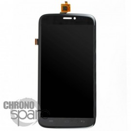 Ecran LCD et Vitre tactile noire Wiko Darkside - H07132-000